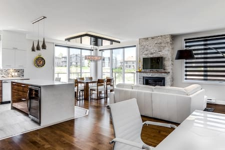 Luxury penthouse 5 minutes from downtown Quebec - Lakás