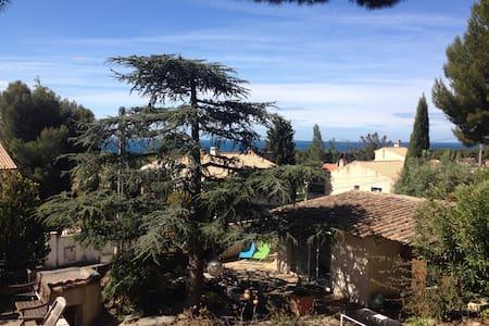 Chambre indépendante dans jardin - Sausset-les-Pins - Haus