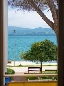 BEACHFRONT - Private Double Room with Sea View - Tivat