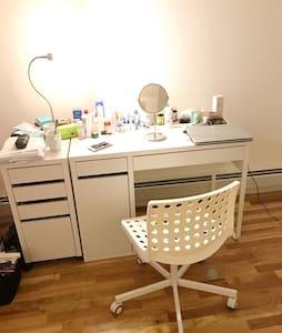 干净面积大的房间 - Medford - Hús