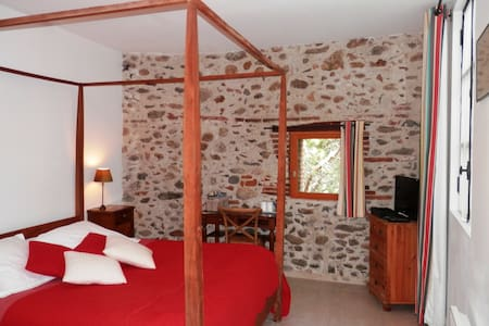 Room 'Muscat' in b&b near Collioure - Ortaffa