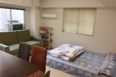 Subway to Namba, 2mins from Sta. - Apartmen
