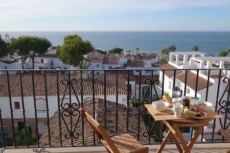 Magnifique appartement vue sur Mer - Cala de Mijas - Apartamento