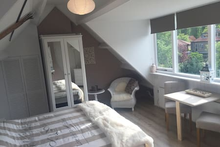 Big Bright & New Room Near Center Of Haarlem - Rumah