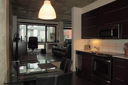Cozy condo near downtown Montreal - Loft