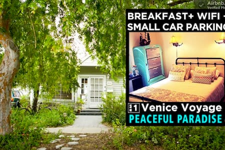 VENICE VOYAGE | RM1 @ PEACEFUL PARADISE by Sea - Los Angeles - Bed & Breakfast