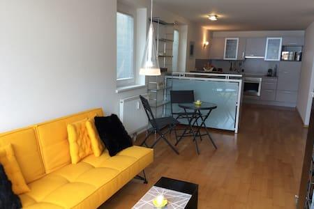 Sonnige 2-Zimmer-Wohnung mit Bergpanorama - Lech - Departamento