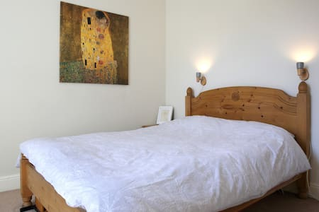 Quiet double room, 15 min to city centre - Edimburgo - Apartamento