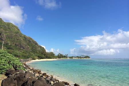 Beachfront Studio on Windward Oahu - Kaaawa - Apartment