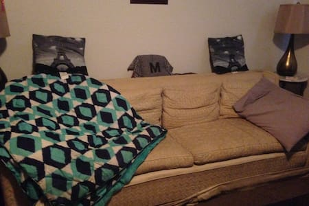 Comfy Couch 5 minutes from OSU - Apartment