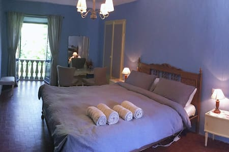 Spacious room in historic Tuscan house with pool! - Cerignano - House