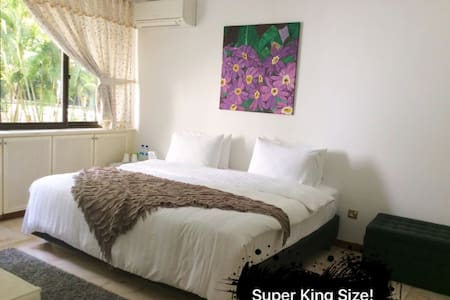 Bright Cozy Rm @ Central w/En-Suite toilet - Singapur - Daire