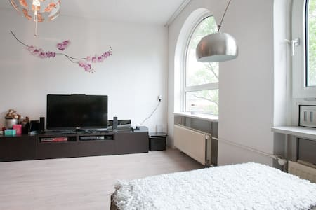 SPACIOUS apt. with small balcony in trendy east! - Amsterdam - Apartment