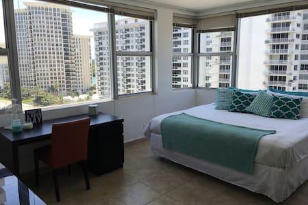 Oceanfront Miami Beach Private Room