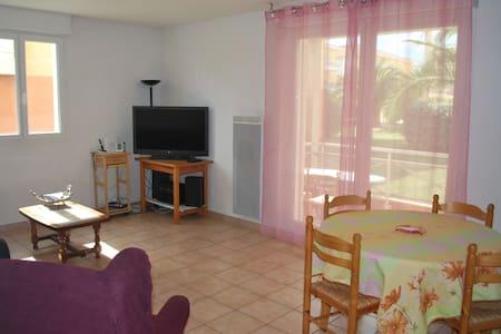 F2 3 Personnes Méditerranée,Agde. - Apartment