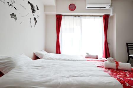 ★BEST LOCATION★ For traveling Osaka - Appartamento