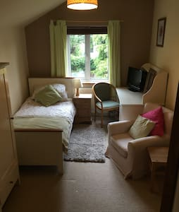 Lovely, spacious single room - Huis