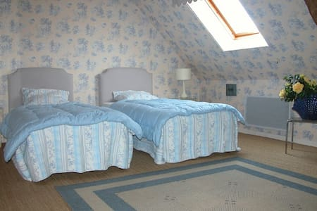 Chambre Du Bellay - 2 lits simples - Bed & Breakfast