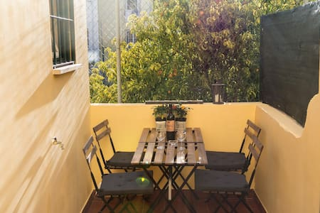 1 Bedroom flat - Central, Charm, Wifi with Terrace - Apartment
