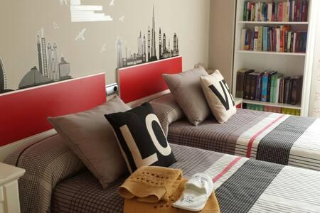 Room next to sea and mountain. - Apartamento