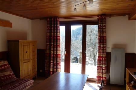 Joli appartement dans chalet - Aillon-le-Jeune - Apartment