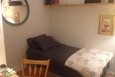 Clean, private room w/friendly host - Dům