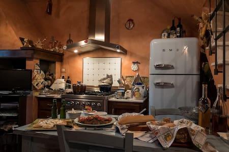 Nido Toscano - Casa nel Borgo di San Clemente - San Clemente In Valle - Haus