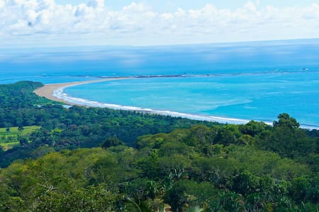 Spectacular Ocean Views, Beach & Tropical Jungle - Uvita - House
