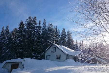 White Cottage with four beds - Aareavaara - Zomerhuis/Cottage