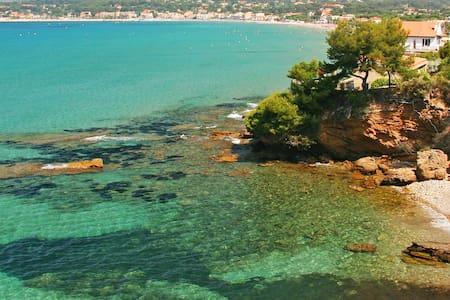 Joli studio en bord de mer - Saint-Cyr-sur-Mer