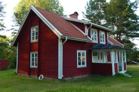 Schwedische Idylle hautnah erleben - Trånshult - Casa