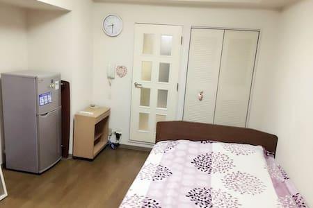 横浜駅から5分、wifi無料、横滨中心、家居齐全 - 横滨市 - Wohnung