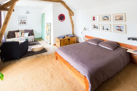 Nice private and original bedroom - Blois