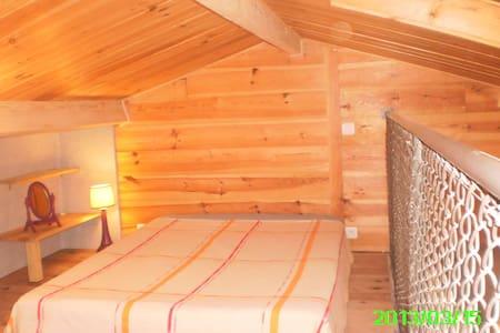 gite en bois, chaleureux, au cœur de la foret - Salles - Rumah