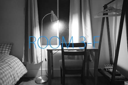 3-F / Minimalist room in a great location - Setagaya-ku