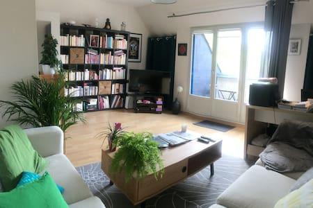 Oasis de charme (50 m²) à 2 pas du centre-ville - Apartamento