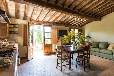 """Appartamento """"Pozzo"""" in Montecaprili - Provincia di Siena - Huoneisto"""