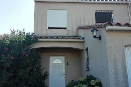 villa pour 4 p à 15 mn de Perpignan et de la plage - Rivesaltes
