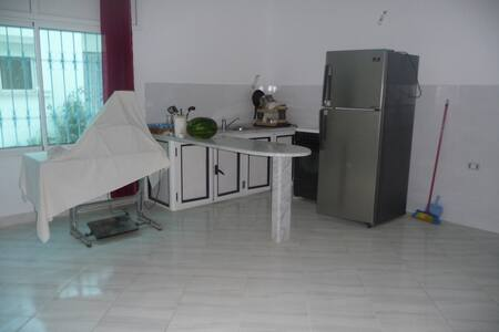 Appartement - 2 chambres - RDC - 5min de la plage - Hammam Al Agzaz - Wohnung