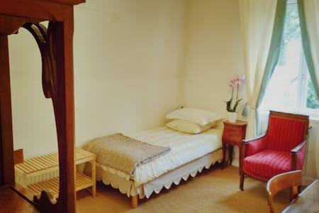 Chambre privée, dans un pavillon de chasse du 18ème - Vaucresson - Penzion (B&B)