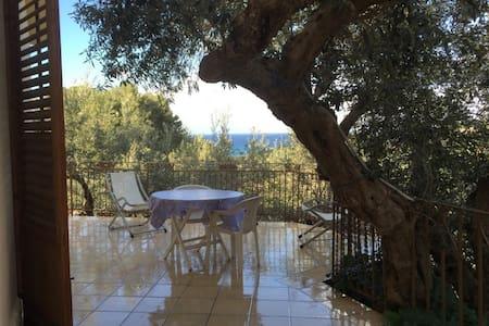 Casetta dell'albero con terrazzo vicino al mare - Scopello