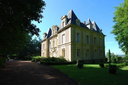 Urlaub mit und ohne Hund in Burgund - Schloss