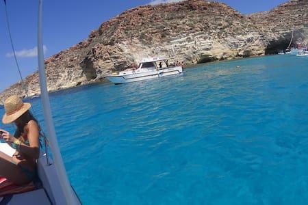 Graziosissimo bilocale1 in centro e fronte mare!!! - Lampedusa - Apartemen