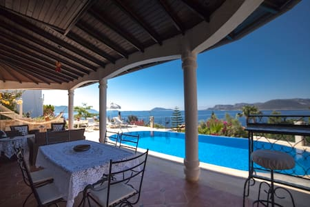 Villa with Private Pool & Sea View - Kaş