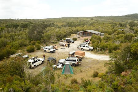 Yeagarup Hut - a 4WD Group Private Campground - Pemberton - Hut