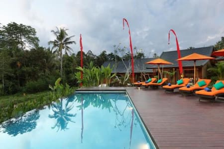 Cozy, Tranquil Sunset View Villa - Ubud - Villa