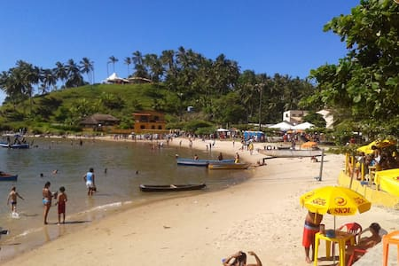 Quarto a beira mar no Pontal Ilheus - Hus