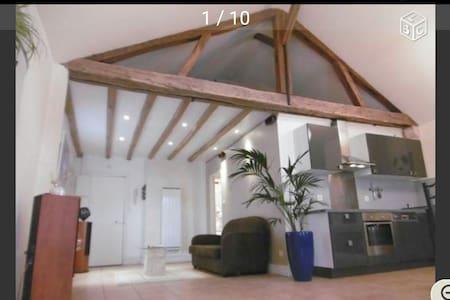 3 pièces. Appartement atypique - Loft