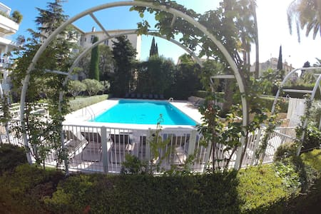 Ideal Location Calm & Swiming Pool - Cannes - Apartment