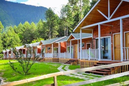 位于西藏波密原始森林里的欧式小木屋 - Nyingchi - Casa de campo